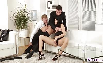 Lady Dees pussy riding Nick Gills cock on top