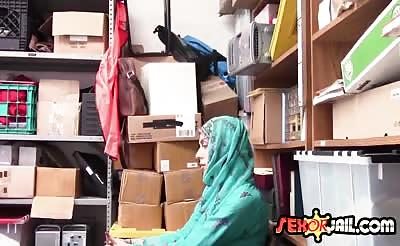Sexy Arab hottie punished with big cock