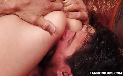 Making Christie Stevens Happy With A Hard Schlong