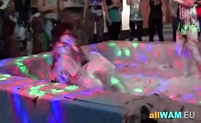 Nasty lesbian fetish play