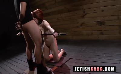 Sexually Disgraced Slut likes it Rough