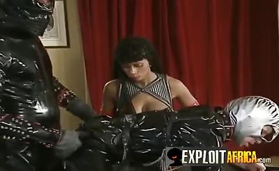 Delicious pussy stretched with hard dick