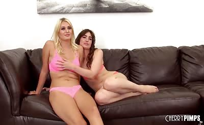 Gorgeous Natalia Starr and Jodi Taylor Fuck LIVE