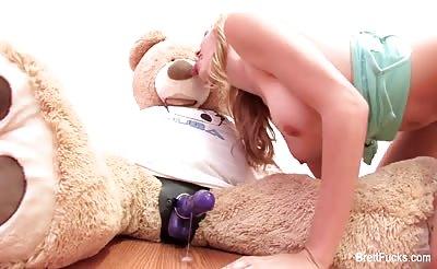 Brett Rossi Fucks A Teddy Bear