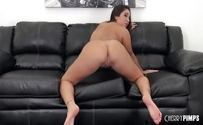 Busty Karlee Grey Masturbating LIVE