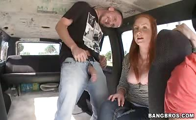 Fire Crotch On The BangBus!
