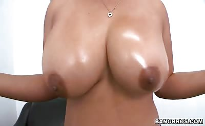 Big Tit Slut Does Anything